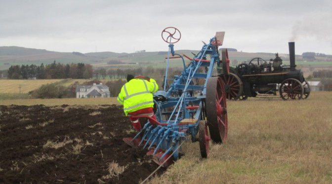 New furrows in Scottish steam ploughing history