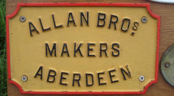 An Aberdeen name of yesteryear: Allan Bros.