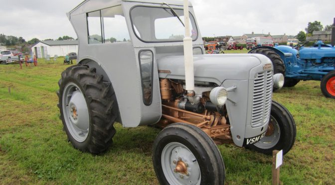 Stylish tractor cabs