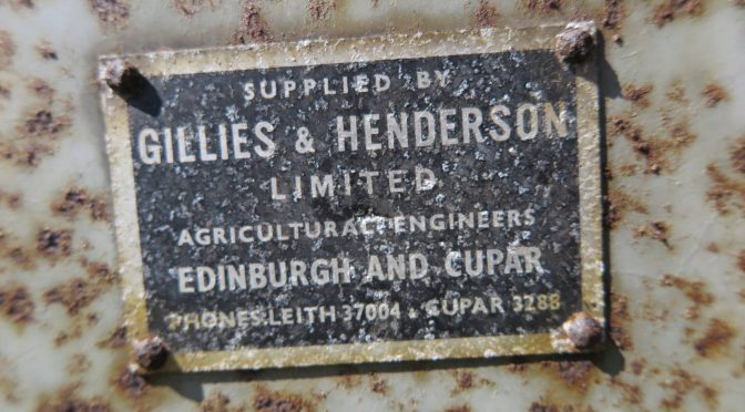 Sowing with Gillies & Henderson