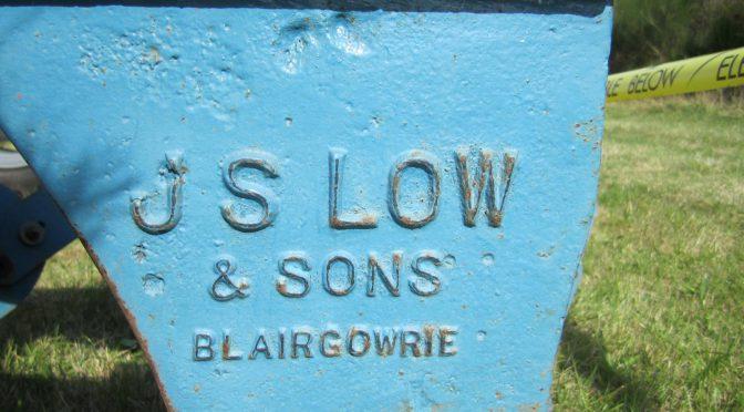 A Perthshire ploughmaker: James S. Low
