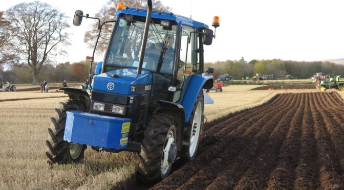 Early ploughing matches in Scotland