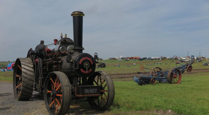 Steam power on the farm
