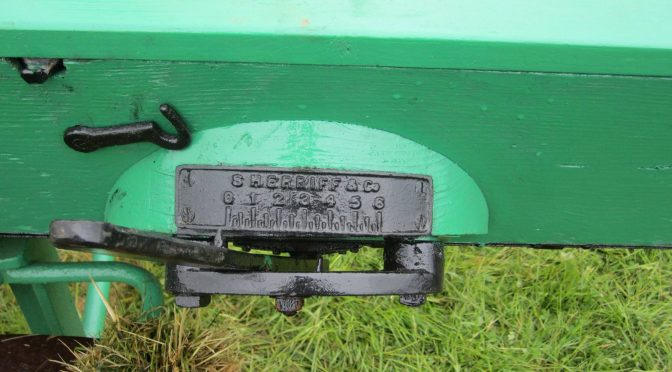 Buying a grain and grass seed drill the Sherriff way