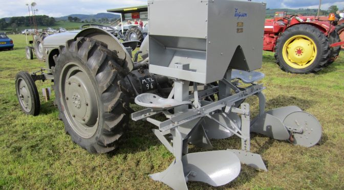 The exhibition of agricultural implements and machines at the Highland Show in the Dumfries Show District between 1830 and 1910 – Part 1