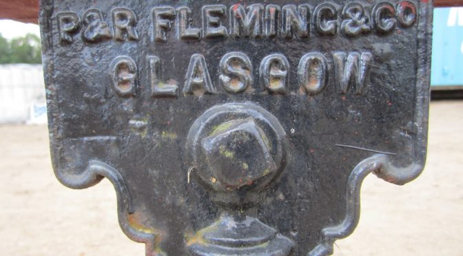 Managers and directors in P. & R. Fleming, Glasgow, a noted firm of implement and machine makers