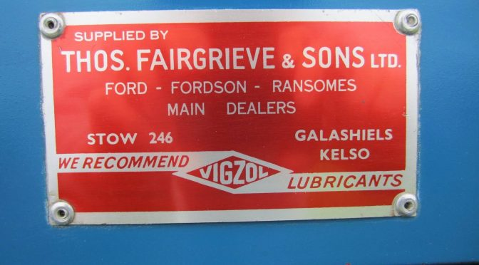 Moving with the times: Thomas Fairgrieve & Sons Ltd, Stow, Midlothian