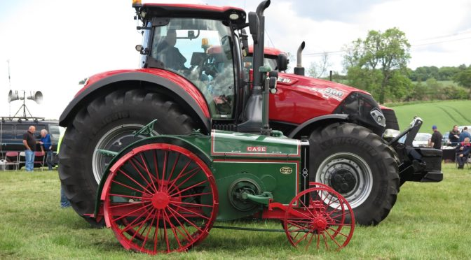 What was new in Scottish implements and machines in 1920?