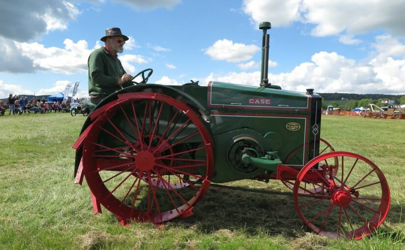 American agricultural implements and machines in Scotland